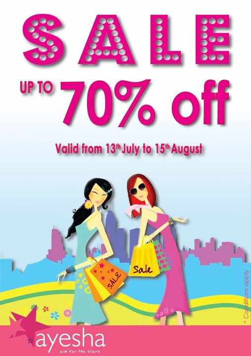 Ayeshaaccessories: End Of Season Sale At Ayesha Accessories