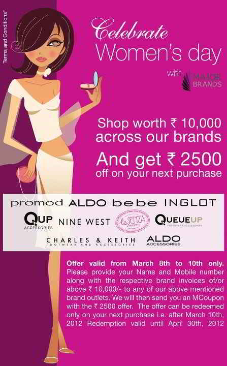 women s day deals celebrate women s day with major brands 8th to 10th march 6148