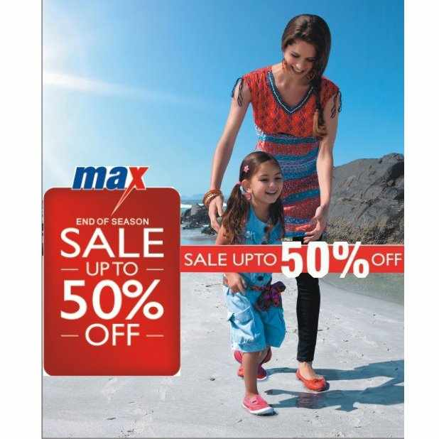 Sale News And Shopping Details March 2012: End Of Season Sale At Max