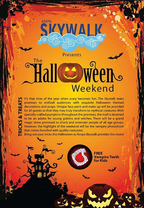Halloween Events for kids in Chennai, Ampa Skywalk, Halloween Weekend