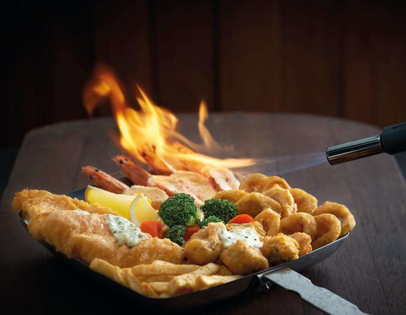 The Manhattan Fish Market Introduces The Flaming Sea Food