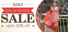 BIBA End Of Season Sale, Upto 50% off