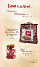 Indulge your Valentine at The Nature's Co
