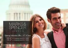 Marks & Spencer Opening Celebration offer, 15 & 16 June 2013, Forum Vijaya Mall, Vadapalani