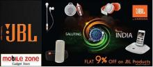 Flat 9% off on JBL Products, 31 August 2013, The Mobile Zone, Phoenix Marketcity, Velachery, JBL Offers