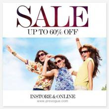Provogue End Of Season Sale, Up To 60% off