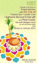 Pongal Celebrations, The Nature's Co, exciting offers, 6 to 16 January 2014, Express Avenue, Chennai