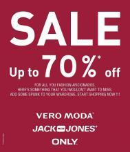 End of Season Sale, Upto 70% off, Jack & Jones