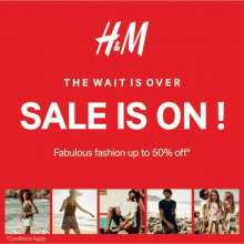 The Wait Is Over - H&M Sale is on from 24 June 2016, Fabulous Fashion up to 50% off
