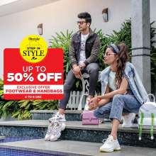 Step in Style with Lifestyle - Up to 50% off on Footwear & Handbags