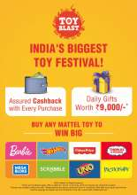 Starmark presents Toy Blast, the biggest toy festival in the country