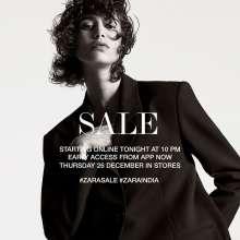 Zara Sale  Starting online on 25th December 2019