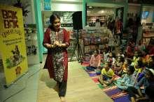 Starmark Presented Story telling session by Janaki Sabesh at Starmark Stores, Phoenix Market City Chennai